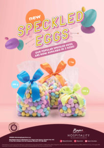 Speckled Eggs Presenter