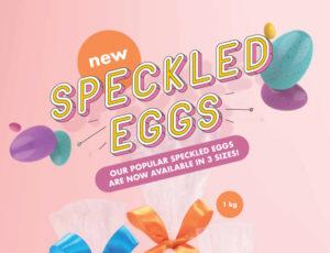 Speckled Eggs Presenter